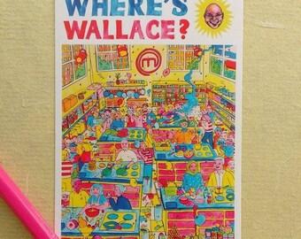 Where's Wallace? Postcard