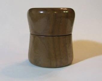 Black Walnut Ring Box