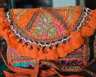 Vintage Indian Clutch Bag Banjara Patchwork Tribal Bohemian Purse Stylish Gypsy BB16