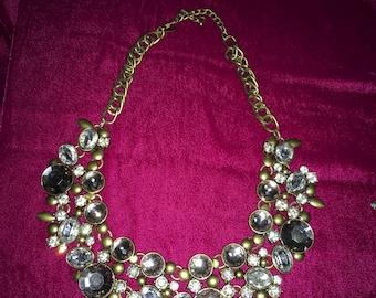 Flower Jewl Necklace