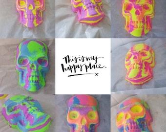 Skull Bath Bomb - Made to order.. Large Skull Bath Bombs, Divine Scentz