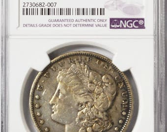 1894 1 Morgan Silver One Dollar NGC VF Details Rare Philadelphia