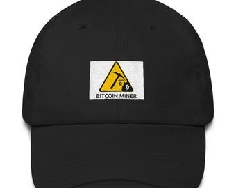 Bitcoin Miner Cotton Cap