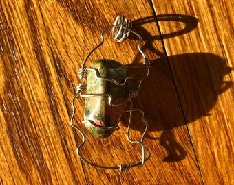 Unakite pendant