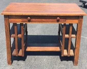 Mission Oak Antique Table