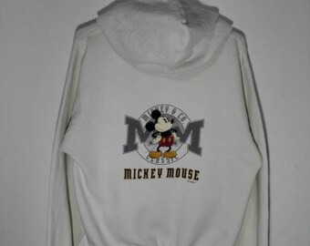 Rare !!! Vintage MICKEY MOUSE Unlimited Pullover Sweatshirt Hoodie