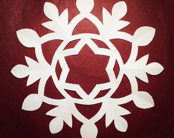 """The """"Cathy"""" Snowflake Pattern"""