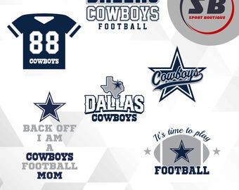 Dallas Cowboys, American Football, sports, dxf, svg, eps, jpg, png files, football team BS-006