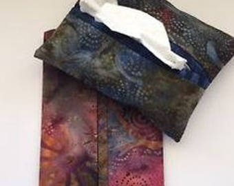 Fabric tissue holders