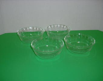 Vintage Pyrex Custard Bowls