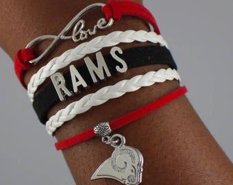 Winston-Salem State University Infinity Bracelet