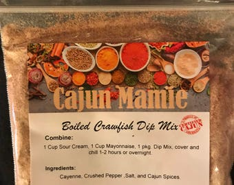 Boiled Crawfish Dip Mix
