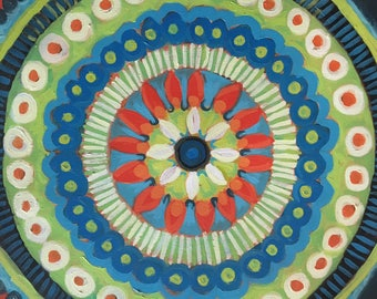 """22"""" Seven Heavens Mandala"""