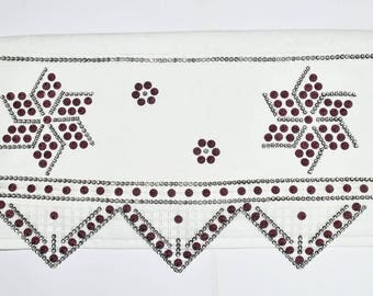 Star Beaded Towel