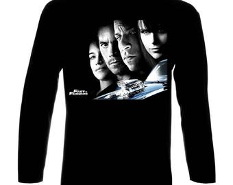 Inspired By Fast and Furious Brian O'Conner Dominic Toretto Long Sleeve T-Shirt