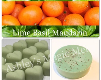 3 lime basil mandarin jo malone soy wax melts, designer dupe melts, fragranced wax melts, strong scented wax melts, cheap melts