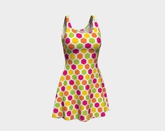 70's Flare Dress