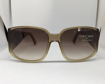 Vintage sunglasses Giorgio Armani-Rare sunglasses vintage Giorgio Armani