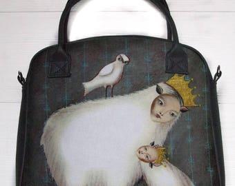 "Bag with authors print ""Tenderness Amalfeas"""