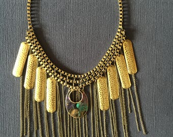 Upcycled Statement Necklace