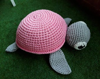 Crocheted Turtle seat