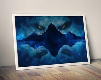 eagle eyes, eagle art, eyes art, eagle print, eagle poster, eyes poster, wall art, animal art, eagle, eyes, poster, print, digital art, art