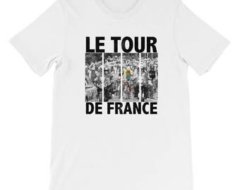 Cycling, Tour De France Themed Short-Sleeve Unisex T-Shirt