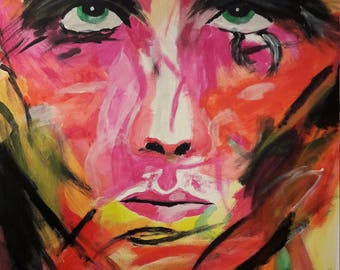 """Extremely rare Art """"MultiFace"""" by HighArtGoods"""