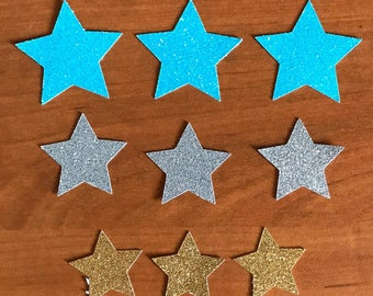 Star Cake and Cupcake Toppers