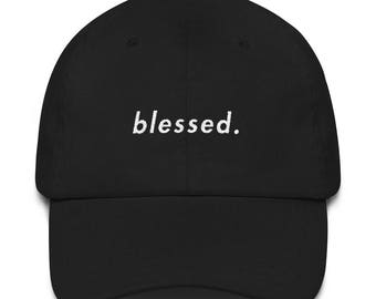 blessed. dad hat