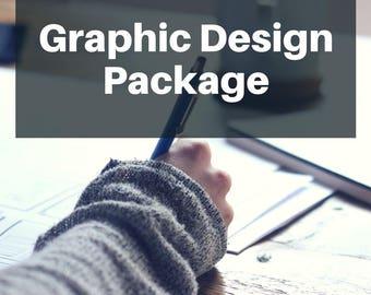 Graphic Design Package - Shop Logo - Shop Banner - Shop Icon