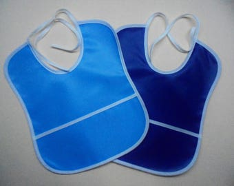 2 pack baby bibs waterproof