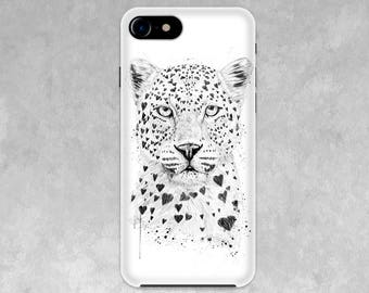 Lovely leopard / Case for  IPhone X, 8/8 Plus, 7/7 Plus, SE, 6s/6, 5/5S/5C, 4/4S Christian / art_m0007an_7 Valentine's gifts