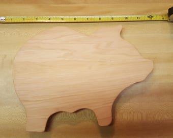 Pig Hot Plate/Cutting Board