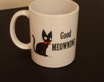 Good meowning cat mug