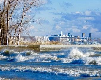 Winter on Lake Erie