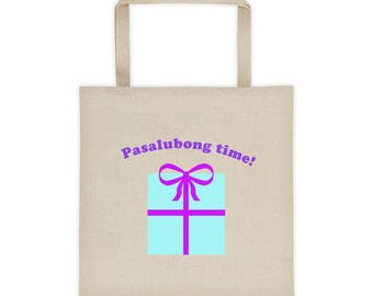 Pinoy Pasalubong Tote bag Filipino Print