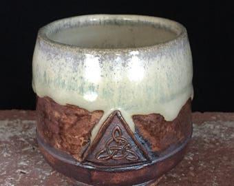 Large Shot Glass, 041, Free Shipping , Ceramic, Irish Whiskey Cup,     Handmade, Irish, Espresso, Shot glass,Ceramic, Handmade Pottery