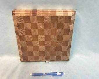 Travel / Portable Chess / Checkers Board - Made in Vermont