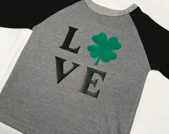 Toddler Boys Love St. Patrick's Day Shirt