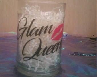 Glam Queen make up brush holder