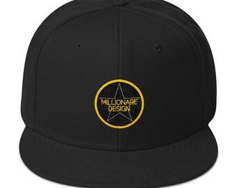 Unisex Millionaire Design Hiphop Cap .you will love it!!