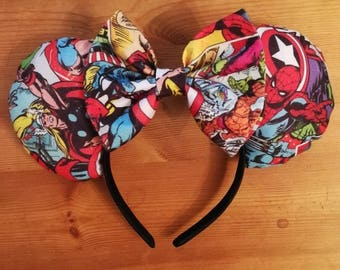Luxury Marvel superhero minnie ears.
