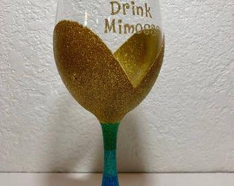 Mermaids Drink Mimosas