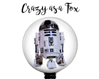 Star Wars r2d2 Retractable Badge Holder, Badge Reel, Lanyard, Stethoscope ID Tag, Teacher, Nurse MD RN Cna Gift