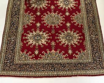 "000098 Kerman Oriental Persian rug 10'7""X13'1"""