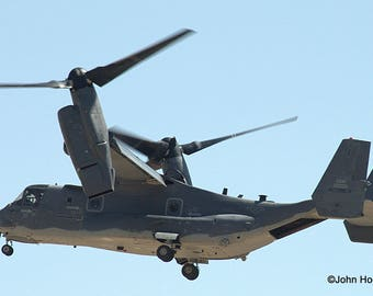 CV-22 Osprey from the 58th Special Operations Wing out of Kirtland AFB