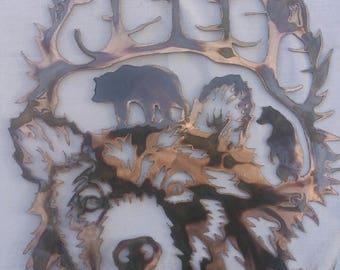 Bear Paw Scene #1028