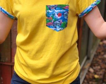 Lilo and Stitch Pocket Shirt