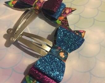 Descendants inspired hair clips